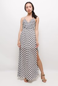 ESTEE BROWN polka dot dress
