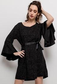 ESTEE BROWN robe brillante