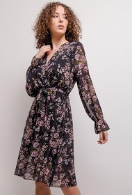 ESTEE BROWN wrap dress