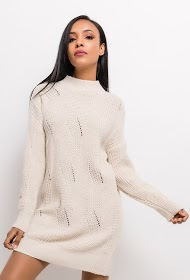 ESTEE BROWN knitted dress