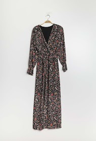 ESTEE BROWN long floral dress
