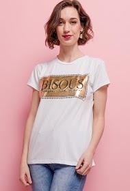 ESTEE BROWN camiseta kiss