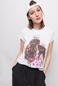 ESTEE BROWN princess t-shirt