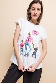 ESTEE BROWN printed t-shirt