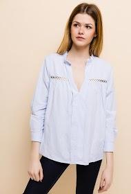 ESTHER.H PARIS cotton blouse