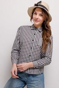 ESTHER.H PARIS tjek skjorte