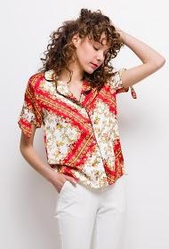ESTHER.H PARIS printed shirt