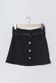 ESTHER.H PARIS buttoned skirt