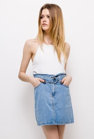 ESTHER.H PARIS denim skirt