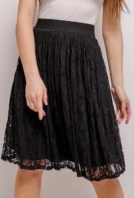 ESTHER.H PARIS blonder midi nederdel