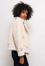 ESTHER.H PARIS casaco de aviador de pele