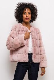 ESTHER.H PARIS casaco de pele