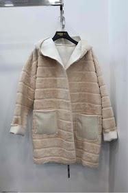 ESTHER.H PARIS casacos de pele de dupla face, reversíveis