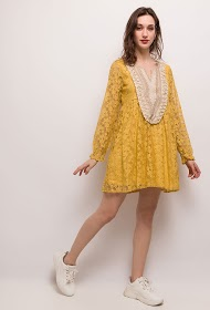 ESTHER.H PARIS mønstret kjole