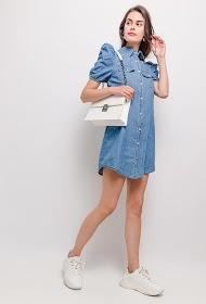 ESTHER.H PARIS vestido jeans