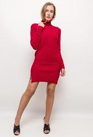 ESTHER.H PARIS twist knit dress