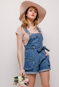 ESTHER.H PARIS denim overalls