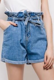 ESTHER.H PARIS denim shorts