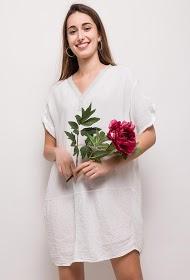 FOR HER PARIS 100% cotton dress