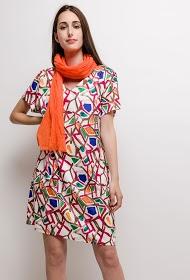 FOR HER PARIS maylis large print dress