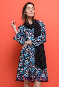 FOR HER PARIS plus size printed dress