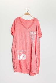 FOR HER PARIS linen / cotton dress