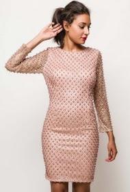 FP&CO beaded shiny dress