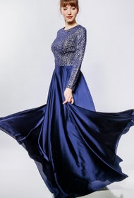 FP&CO vestido de noite