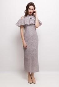 FP&CO long lace dress