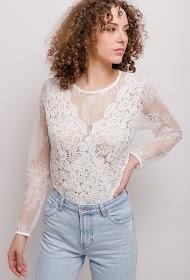 FRIME lace bodysuit