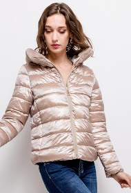FRIME down jacket with fur