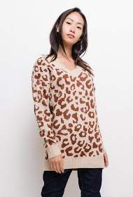 FRIME leopard patterned sweater