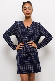 FRIME checked dress