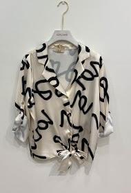 GARÇONNE short sleeve v-neck shirt