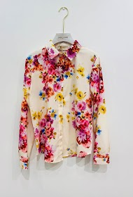 GARÇONNE long sleeved printed shirt