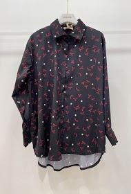 GARÇONNE printed satin shirts