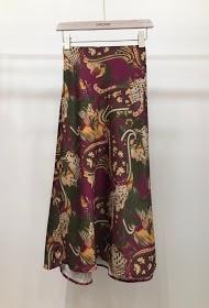 GARÇONNE patterned skirt