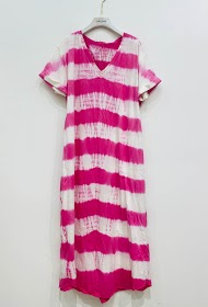 GARÇONNE v-neck short sleeve dress