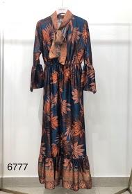 GARÇONNE long patterned dress