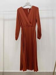 GARÇONNE pleated dress