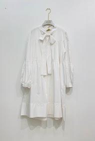 GARÇONNE long sleeved round neck dress