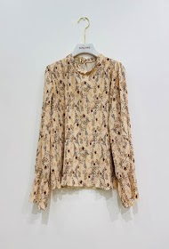 GARÇONNE long sleeve printed top