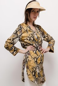 GD GOLDEN DAYS tunic with python print