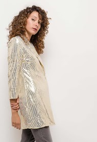 GD GOLDEN DAYS blazer en sequins