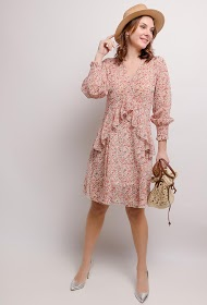 GG LUXE printed dress