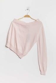 GG LUXE asymmetrical sweater