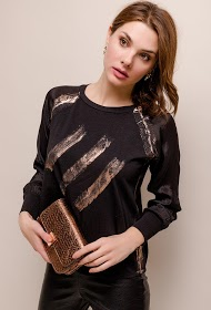 GG LUXE printed blouse