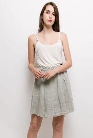 GG LUXE linen skirt