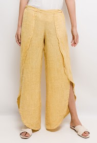 GG LUXE pantalon en lin