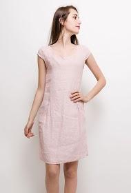 GG LUXE linen dress
